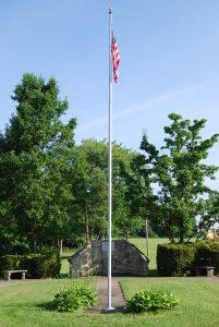 Veteran's memorial in Big Beaver Borough